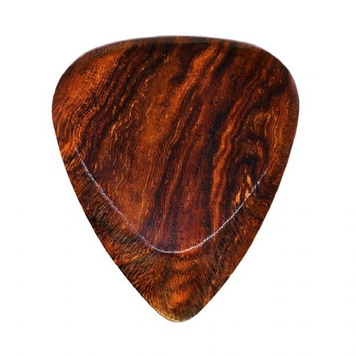Timber Tones Fat Burma Padauk 1 Guitar Pick